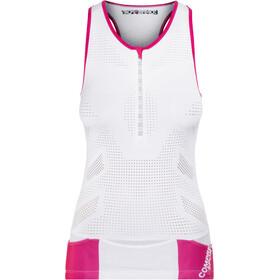 Compressport TR3 Ultra Triathlon Tank Top Women White